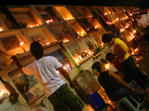 Catholic All Souls Day in the Philippines