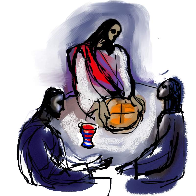 Wie tot Mij komt zal geen honger meer hebben;         En wie in Mij gelooft zal nooit meer dorst krijgen.