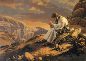 Jesus-Praying-in-Desert